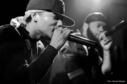 "gunns up - Smif-N-Wessun mit ""The Album"" live in Weinheim"